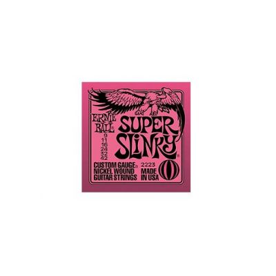 STRUNE ERNIE BALL 2223 SUPER SLINKY