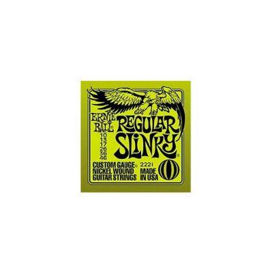 STRUNE ERNIE BALL 2221 REGULAR SLINKY