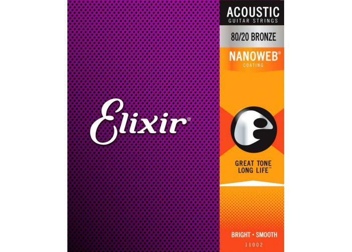 ELIXIR 12 STRINGS 010 NANOWEB