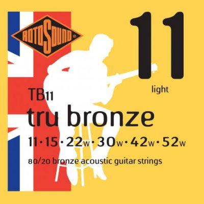 ŽICE ROTOSOUND TB11 11-52  TRU BRONZE FOLK