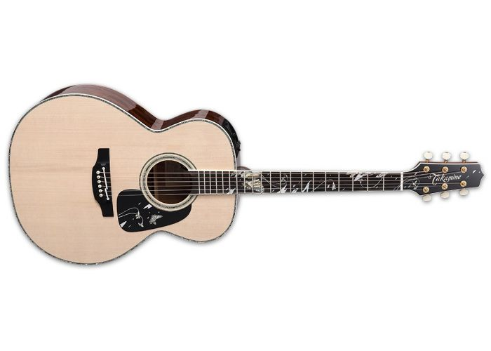 GUITAR TAKAMINE LTD2018 LIMITED EDITION GIFU-CHO ELECTRIC ACOUSTIC GUITAR WITH CASE