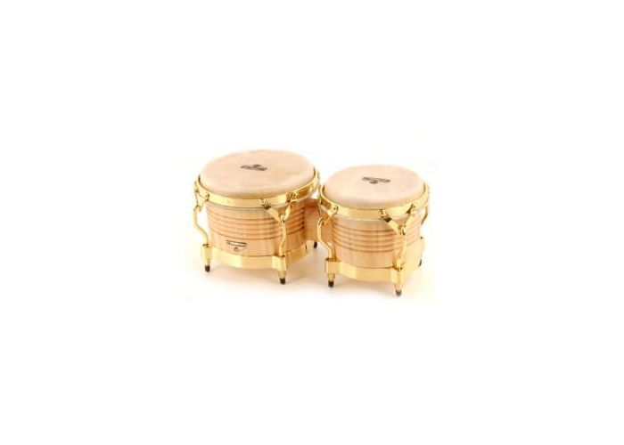 LP M201-AW MATADOR BONGOS NATURAL GOLD
