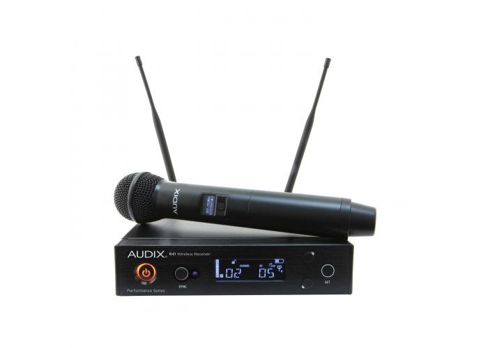 AUDIX AP41 OM2A WIRELESS R41 HANDHELD W OM2 CAPSULE