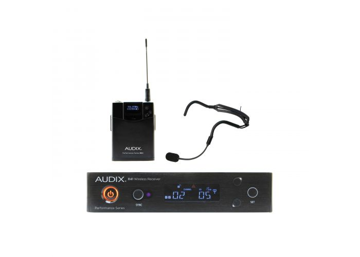 AUDIX AP41 HT2A WIRELESS R41 BODY PACK W HT2 BLACK