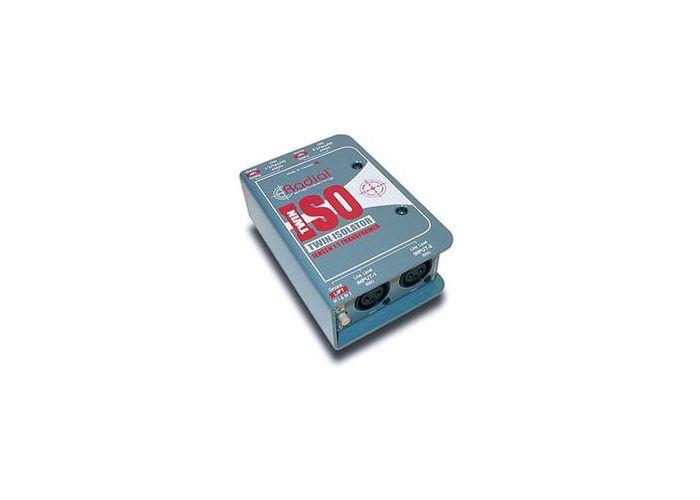 RADIAL TWIN-ISO LINE ISOLATOR