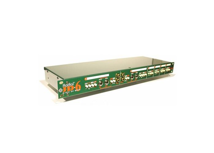 RADIAL JD6 RACKMOUNT DIRECT BOX