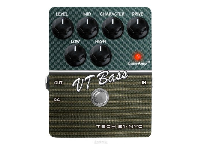 TECH21 CS-VT-V2 BASS CHARACTER SERIES PEDAL VERSION 2