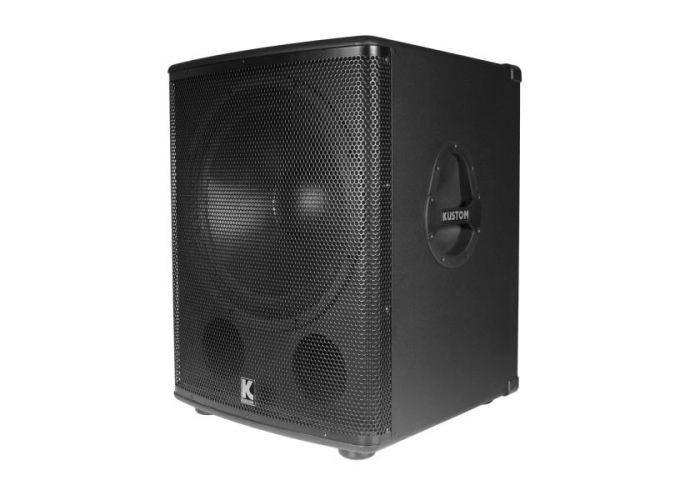 """SPEAKER KUSTOM KPX18A 18"""" SUBWOOFER ACTIVE"""