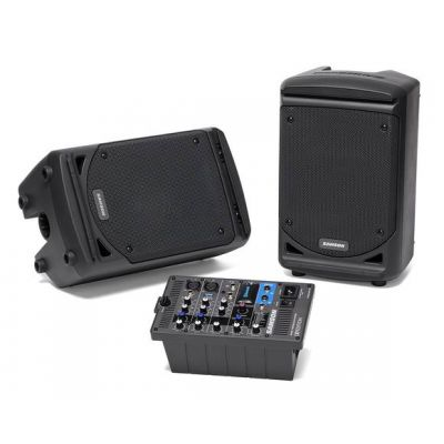 SAMSON XP300B EXPEDITION PORTABLE PA SYSTEM W BLUETOOTH, MIXER