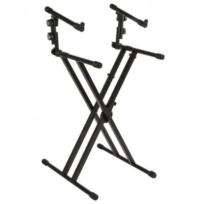 STAND QUIKLOK QL642 FOR TWO KEYBOARDS