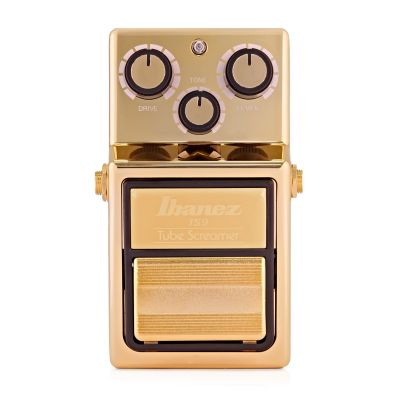 PEDAL IBANEZ TS9 TUBE-SCREAMER LIMITED EDITION GOLD OVERDRIVE PEDAL