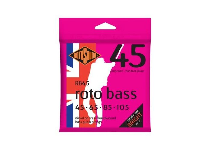 ROTOSOUND RB45 BASS GUITAR STRINGS