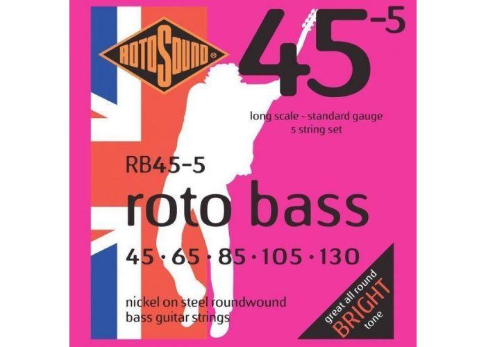 ROTOSOUND RB45-5  5 STRING BASS...