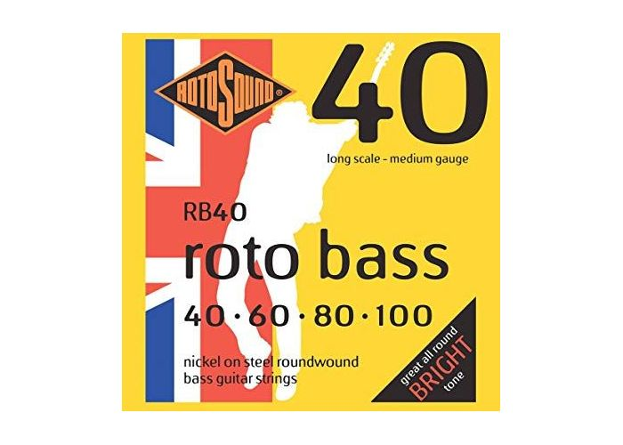ROTOSOUND RB40 BASS GUITAR STRINGS