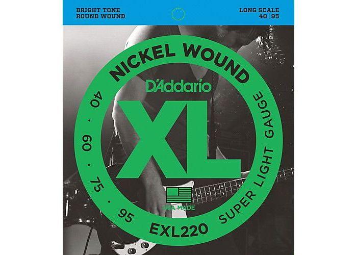 D'ADDARIO EXL220 BASS GUITAR STRINGS