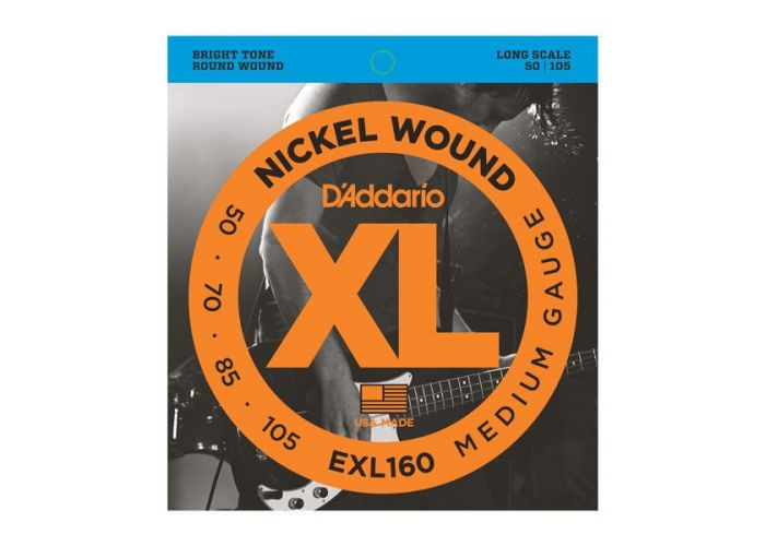D'ADDARIO EXL160 BASS GUITAR STRINGS