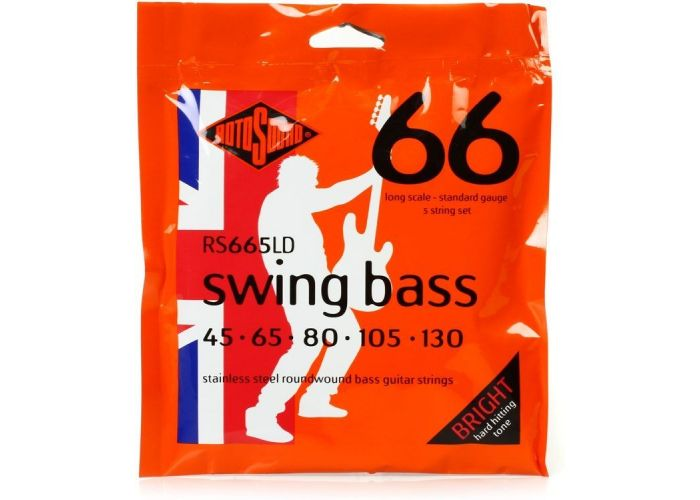 ROTOSOUND RS665LD 5 STRING BASS...