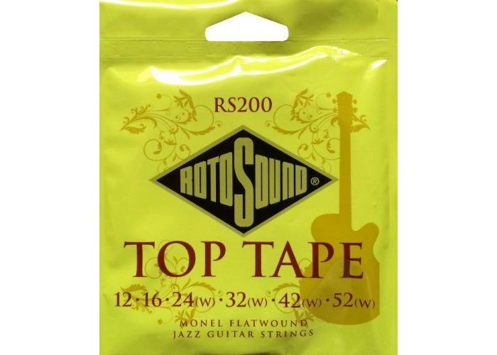 ROTOSOUND RS200 FLATWOUND ELECTRIC...