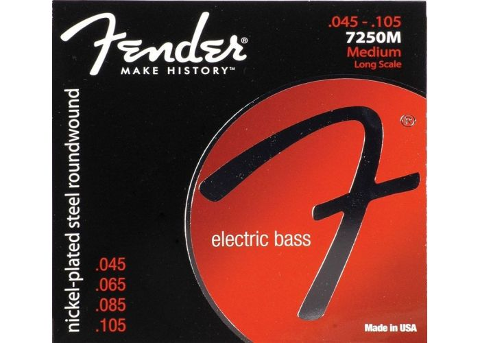 FENDER 7250M BASS GUITAR STRINGS