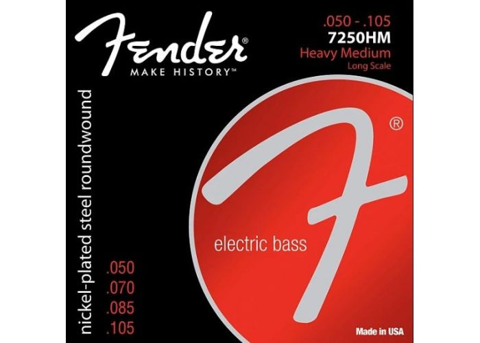 FENDER 7250HM BASS GUITAR STRINGS