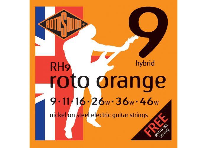 ROTOSOUND ORANGE ELECTRIC GUITAR STRINGS