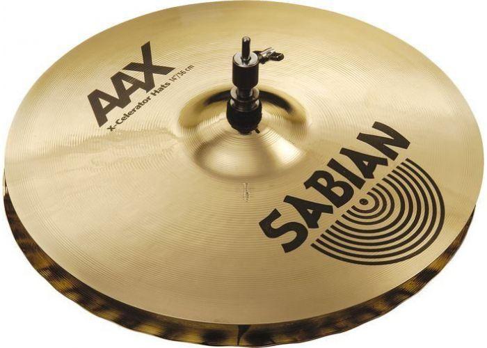 """SABIAN 13"""" AAX X-CELERATOR HATS CYMBAL"""