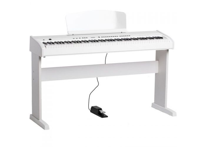 ORLA STAGE STUDIO WHITE DIGITAL PIANO