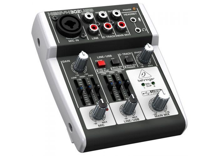 BEHRINGER XENYX302 USB MIXER