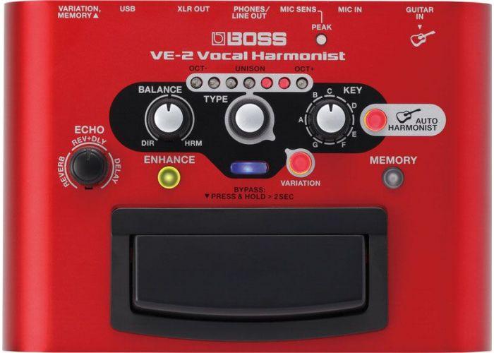 BOSS VE-2 VOCAL HARMONIST EFFECT PEDAL