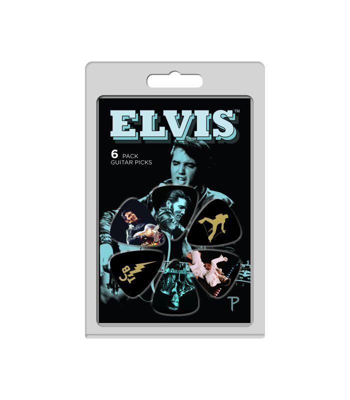 PERRI'S LP-EP4 ELVIS PRESLEY 6-PACK...