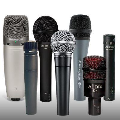 Mikrofoni v akciji