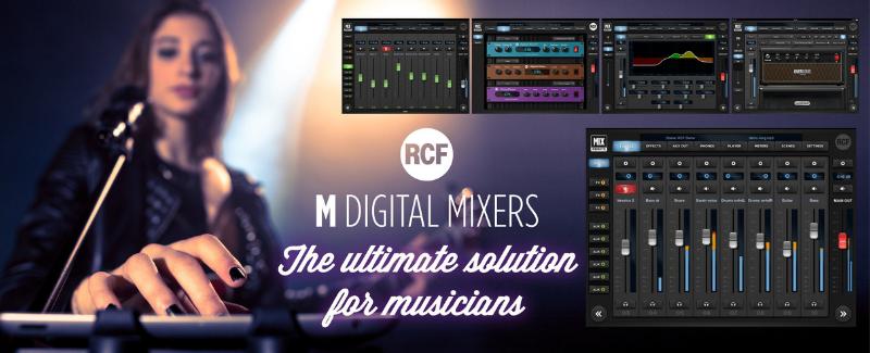 RCF M mixers